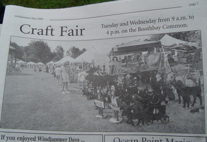 2003 Boothbay Windjammer Days Newspaper Photo